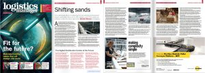 Photo of article in Logistics Manager